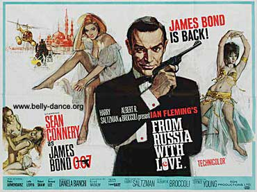 "Promotional poster for ""From Russia, with Love"""